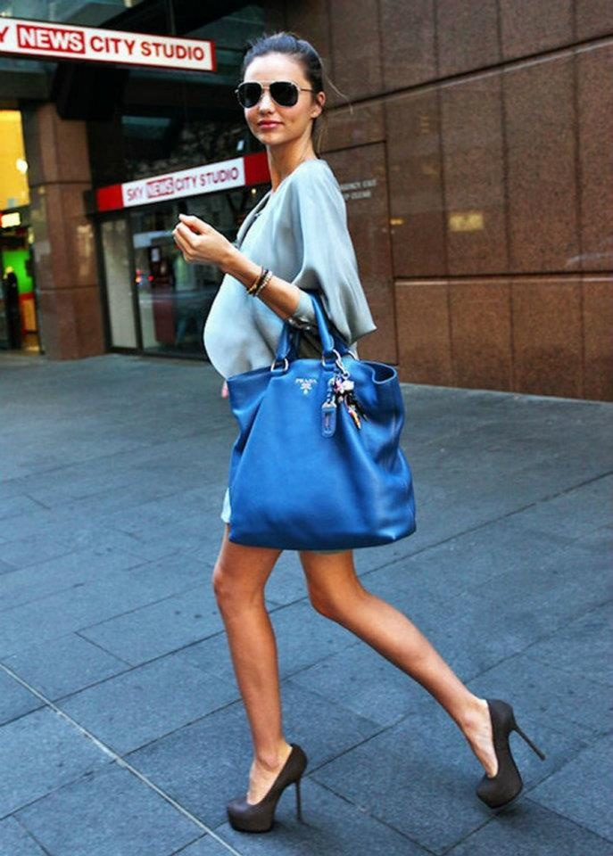 BLUE BAG PRADA