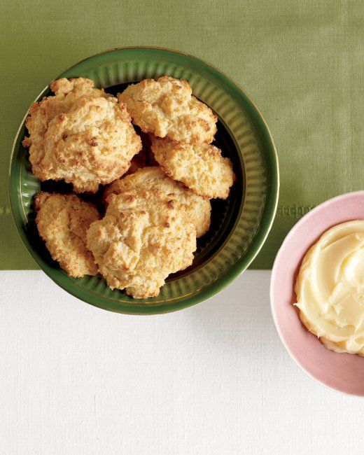 Buttermilk & Cornmeal Drop Biscuits with Honey Butter + recipe # ...
