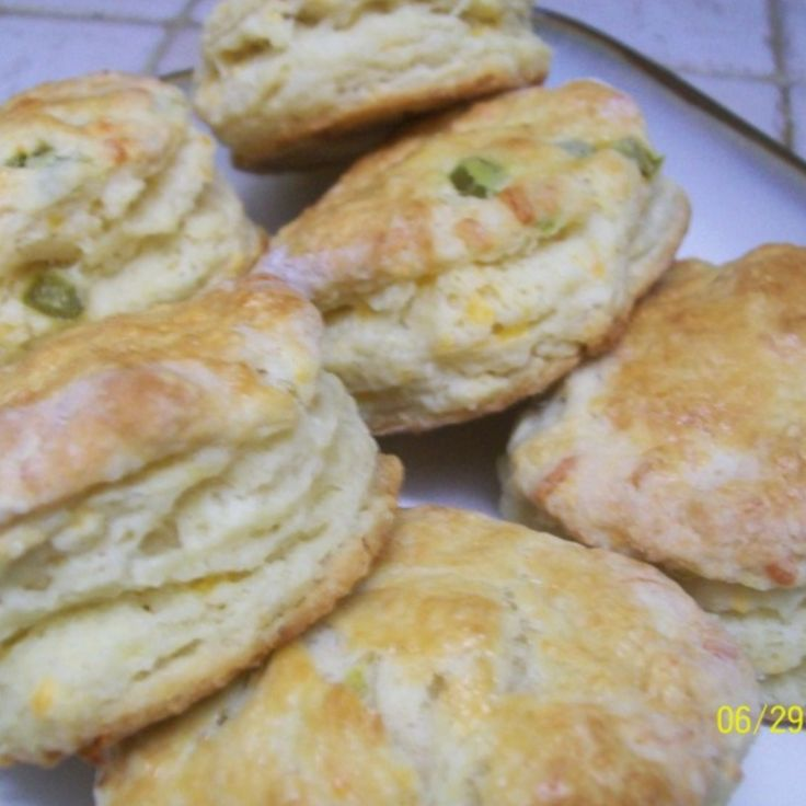 Jalapeno and Cheddar Biscuits (not your grandmother's biscuits) Recipe ...