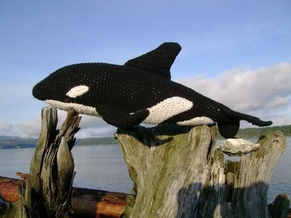 Amigurumi Orca Whale : Orca PDF Crochet Pattern amigurumies- animalitos Pinterest