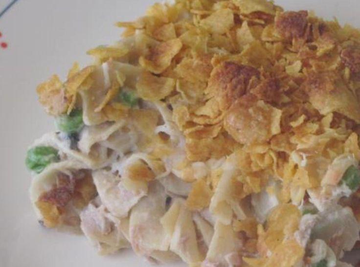 Creamy Tuna Noodle Casserole | Recipe