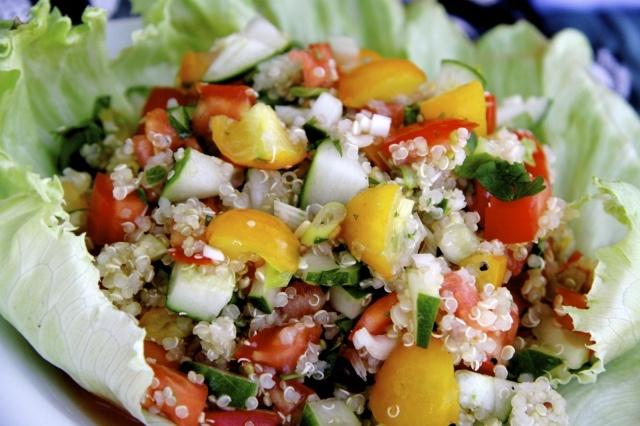 Coconut Quinoa And Kale With Tropical Pesto Recipes — Dishmaps