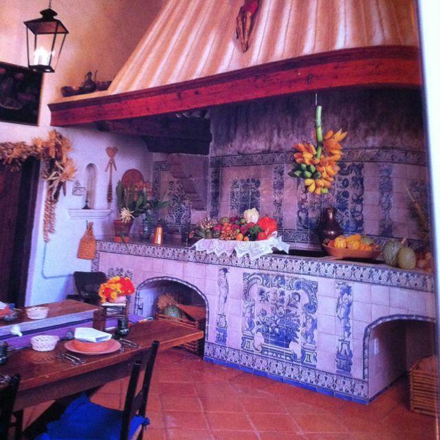 Antigua cocina mexicana modernizada.