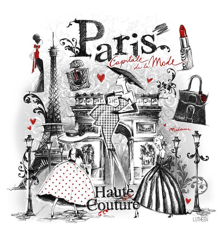 Paris Illustration: EPHEMERA & ILLUSTRATIONS On