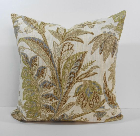 Tommy Bahama Decorative Bed Pillows : Tommy Bahama Designer Pillow Cover, Decorative Throw Pillow Cushion,