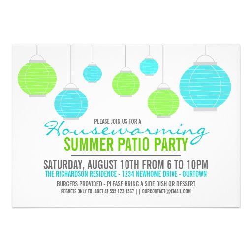 Invitation Housewarming as beautiful invitations example