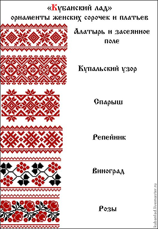 Вышивка и символика русского 88