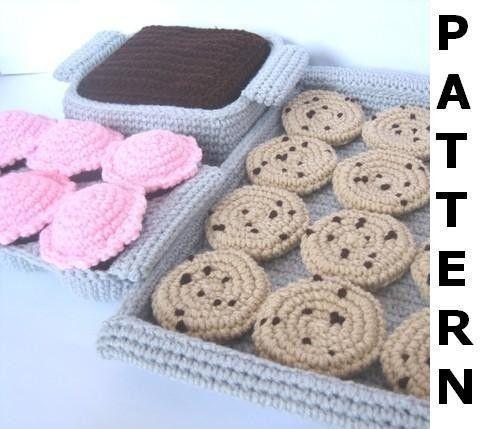 CROCHET PLAY FOOD PATTERN | FREE CROCHET PATTERNS
