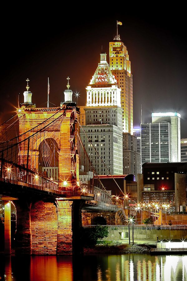Cincinnati Ohio Travel Things Pinterest