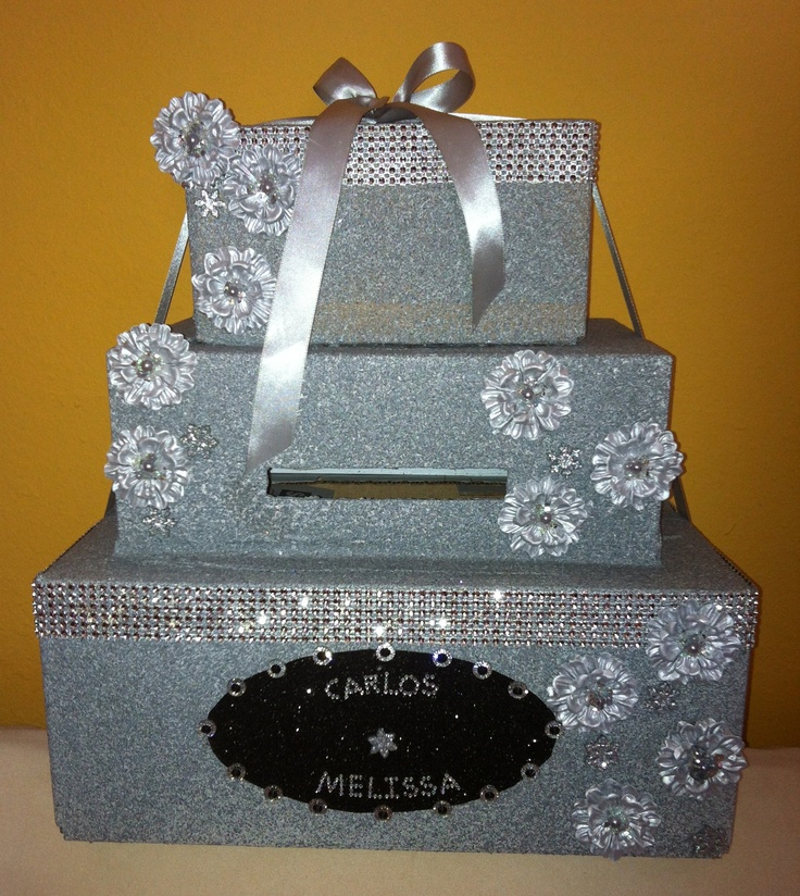 Wedding Gift Ideas For Niece : made this gift box for my niece