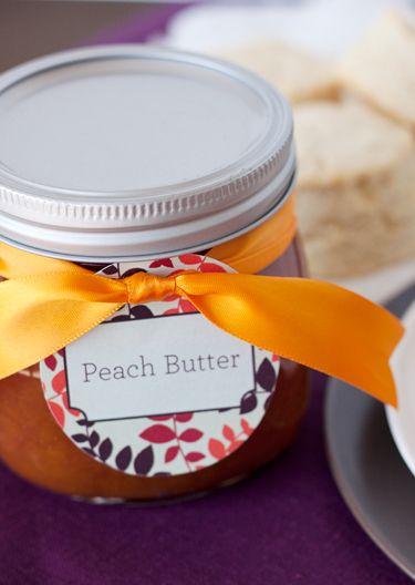 Peach Butter Recipe — Dishmaps