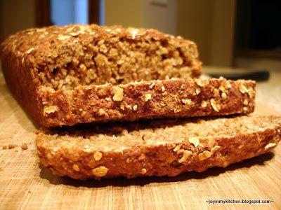 Oatmeal Tea Bread | Food - Bread | Pinterest