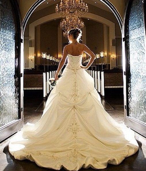 ballroom gown wedding dress love it wedding day pinterest