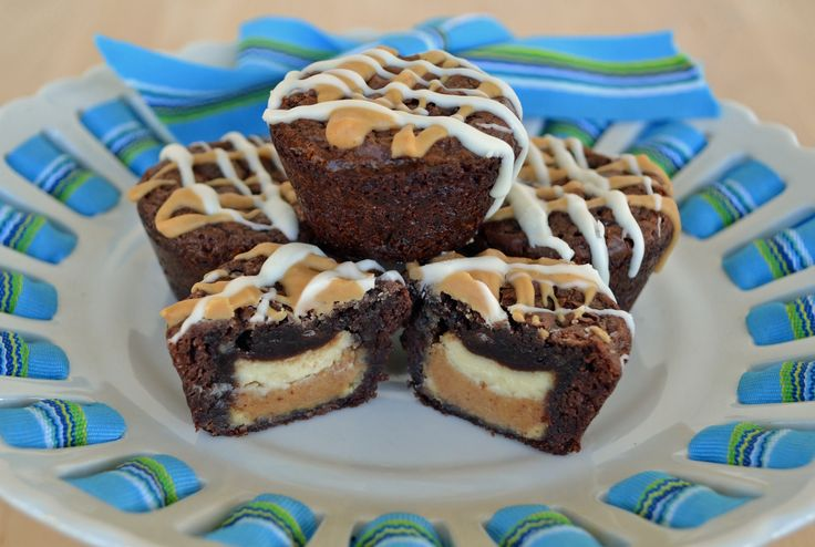 More like this: brownie bites , cup brownie and peanut butter .