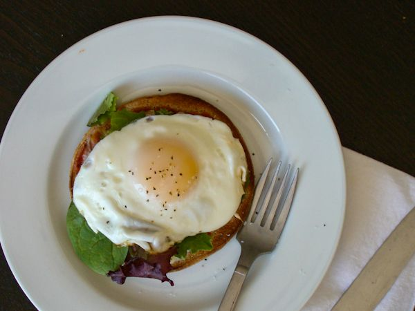 Open Face Italian Egg Sandwich | Budget Gourmet Mom