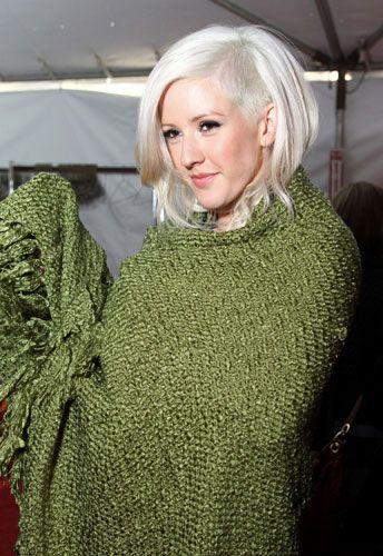Ellie Goulding undercut