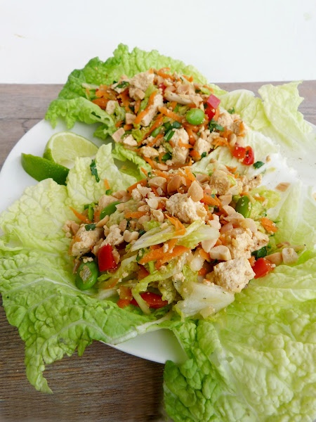 ... flavor. Try these Laotian Tofu Larb Lettuce Wraps and you'll agree