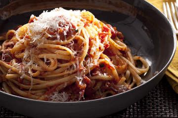 Cook from your pantry - spaghetti puttanesca