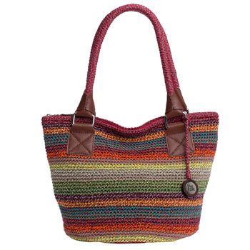 The Sak Crochet Tote : The Sak Crochet Tote - Gypsy Stripe My Style Pinterest