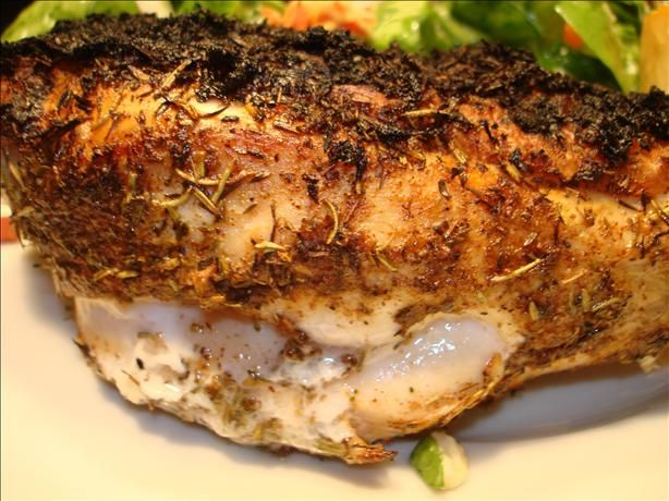 """Jamaican Jerk Chicken and Seasoning - Shellbelle says, """"After coating ..."""