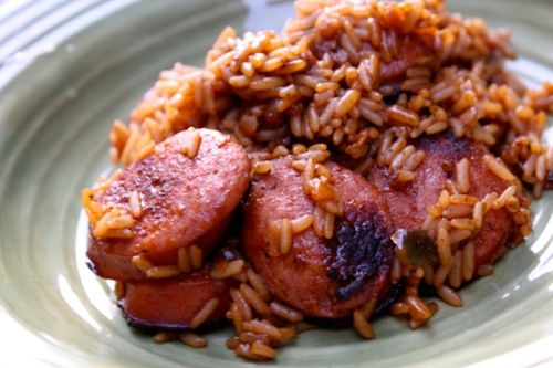 chicken sausage jambalaya old school chicken and sausage jambalaya