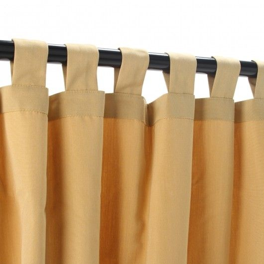 Sunbrella Outdoor Curtains by Hatteras Outdoors. On Sale at Nutshell ...