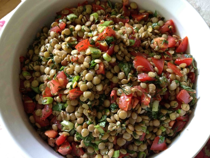 Lentil Salad with Tomato and Dill | Favorite Tried and True Recipes ...