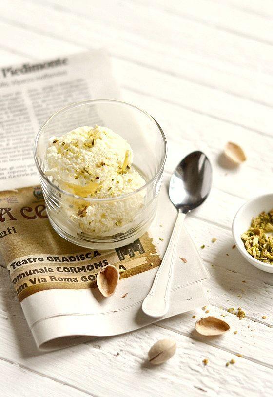 homemade pistachio ice cream | ice cream | Pinterest