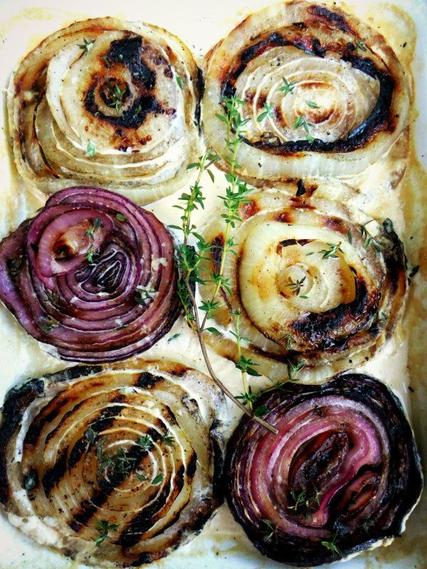 grilled onions | Food and Drink | Pinterest