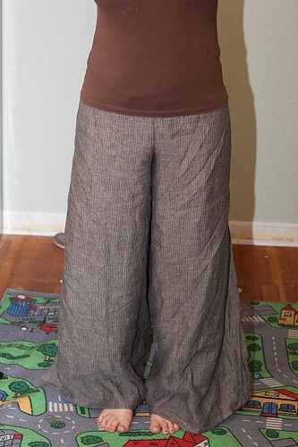 wrap pants for summer