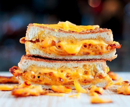 Mac and cheese grilled sandwich | SANDWICH UNIT | Pinterest