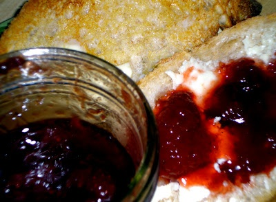Strawberry Balsamic Jam (this is a bit thin, but really tasty. For us ...