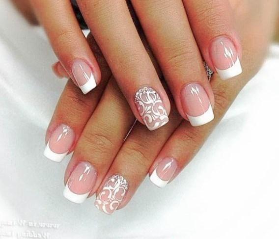 Фото рисунки на ногтях на короткие ногти