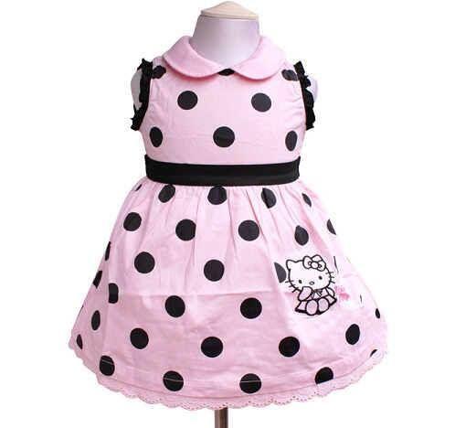 Samgami ~ HK Pink Polka Dress #Dress #Samgami #HelloKitty #Pink