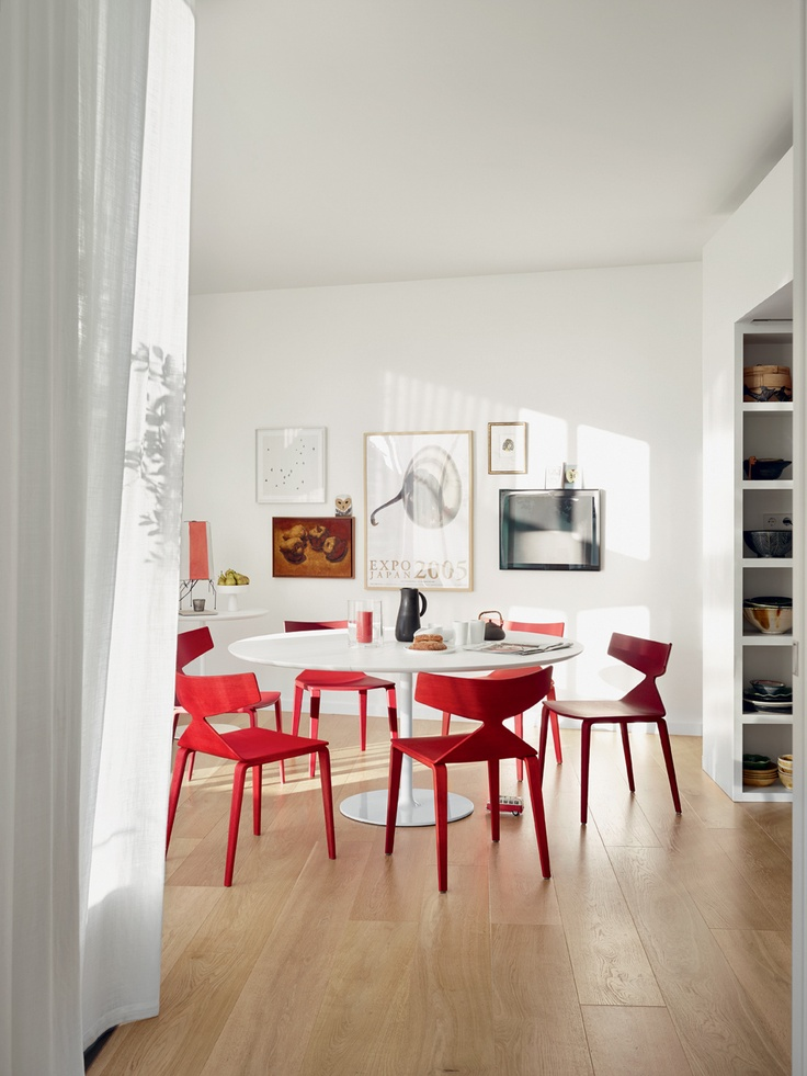 Saya Chair By Lievore Altherr Molina For Arper Available At Stylecraft Stylecraft In Red