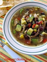 Jalapeno Popper Chicken Chili Soup with Bacon | Cinnamon Spice ...