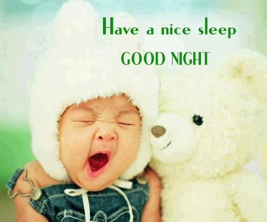 Funny Child Is Saying Good Night | Peques-Babies | Pinterest Good Night Quotes Baby