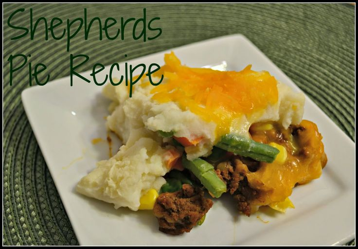 Easy Shepherds Pie Recipe #Recipe | Recipes | Pinterest