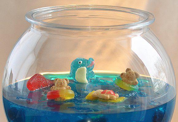 Jelly Shot Gummy Fish Bowl | Recipe