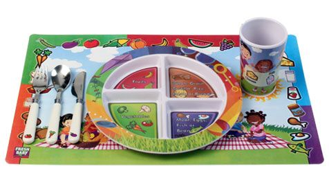 #Win a 6 piece dinnerware set from @Fresh  Baby with this #giveaway!