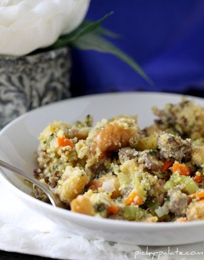 The Best Stuffing Ever…Sourdough Cornbread and Sausage Stuffing ...