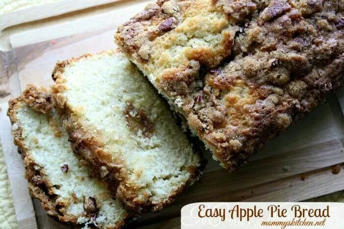 Apple pie bread | Recipes | Pinterest