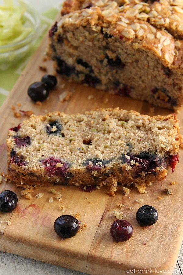 Flashback Friday: Blueberry Zucchini Bread » Eat. Drink. Love.