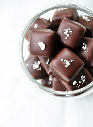 salted butter caramels ... | The Bite | Pinterest