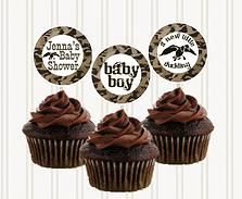 Duck Dynasty Personalized Cupcake Toppers