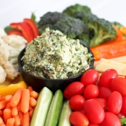 Avocado Spinach Dip by TheHealthyFoodie | Healthy Eating | Pinterest
