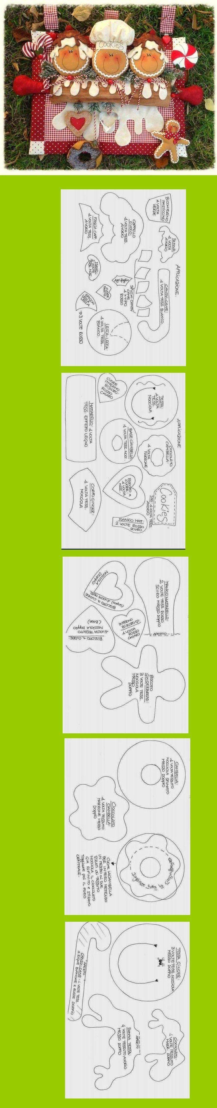 Игрушки из фетра своими руками: схемы, шаблоны и выкройки 44
