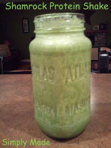 Shamrock Protein Shake | Favorite Recipes | Pinterest