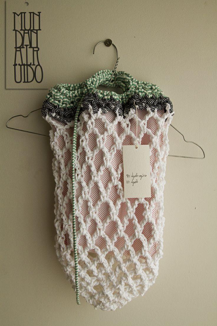 Crochet Shopping Bag : shopping bags