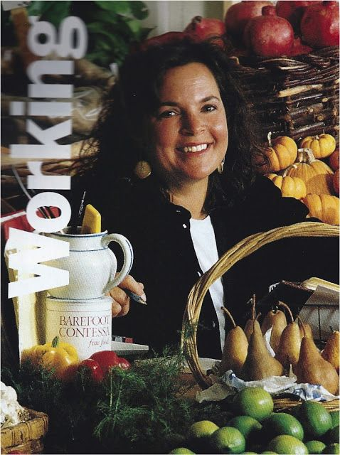 Barefoot Contessa Younger Ina Garten Food Display